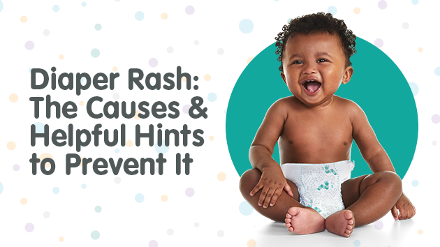 Diaper Rash: The Causes & Helpful Hints to Prevent It