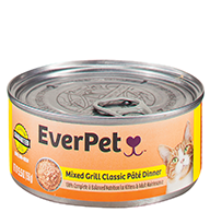 EverPet Mixed Grill Classic Pate Cat Dinner